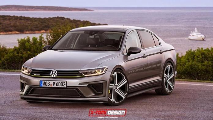 Volkswagen Passat R400 Concept rendering