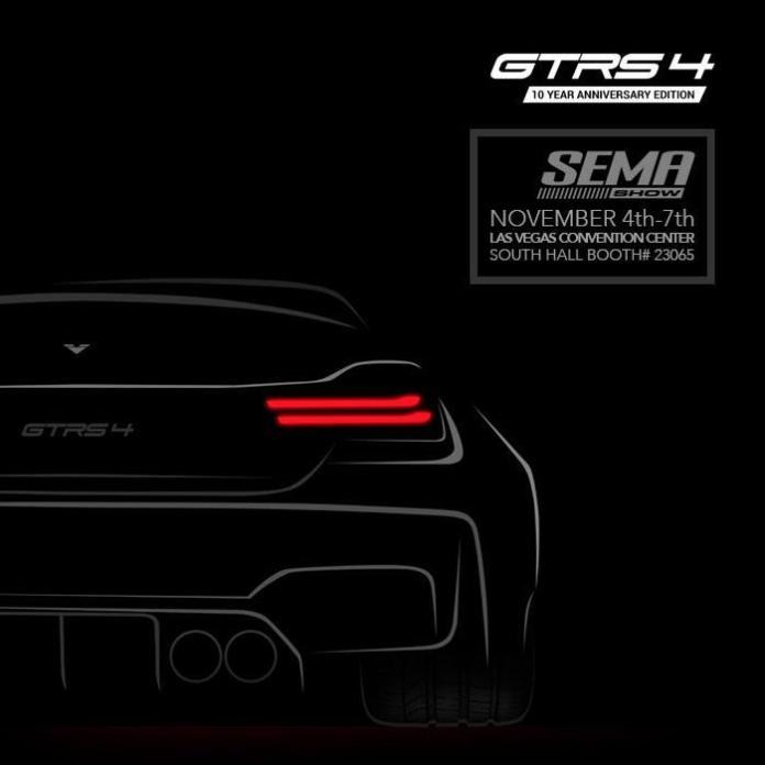 Vorsteiner GTRS4 Wide Body teaser for SEMA 2