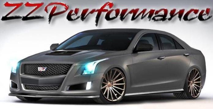 ZZ Performance Cadillac ATS for SEMA (1)
