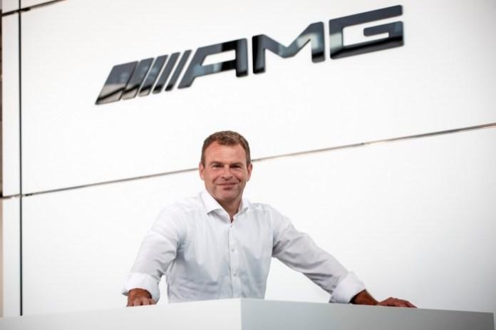 Tobias Moers Vorsitzender der Geschäftsführung Mercedes-AMG Gm