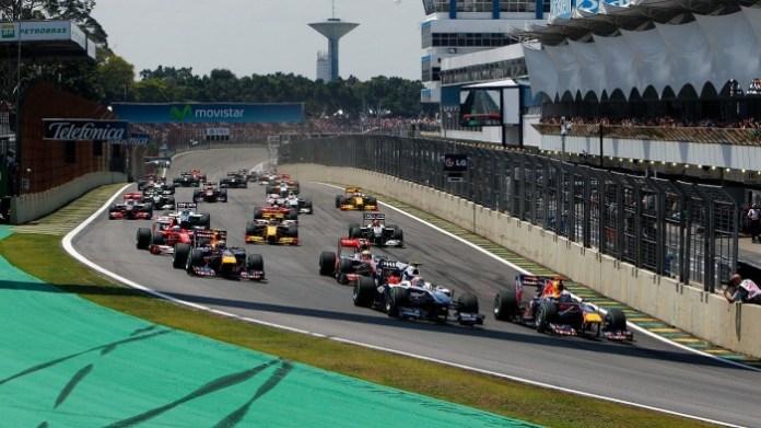 2010 Brazil F1 GP Start