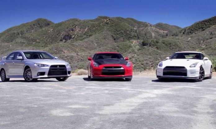 2014 GT-R Vs 2010 GT-R Vs EVO X