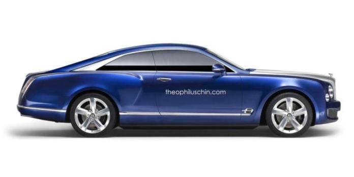 Bentley Grand Coupe / Brooklands rendering
