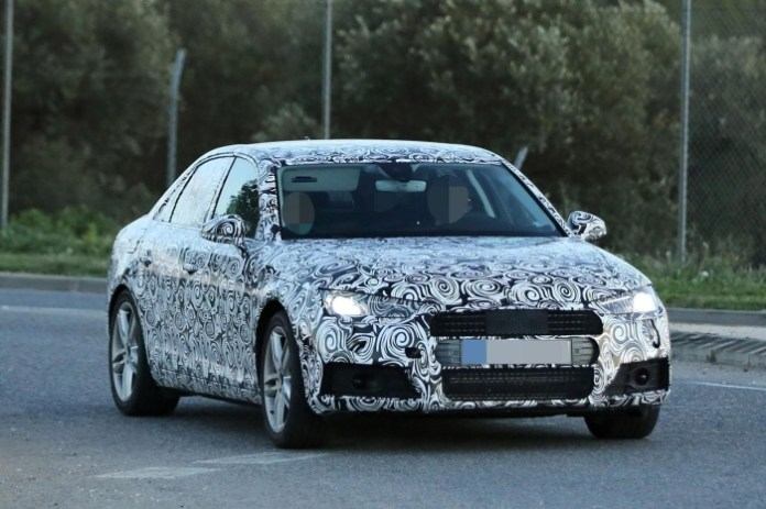 Audi A4 2016 spy photos (6)