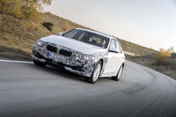 BMW 3-Series plug-in hybrid prototype 29