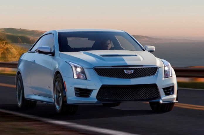 Cadillac ATS-V Sedan and Coupe 2016 (10)