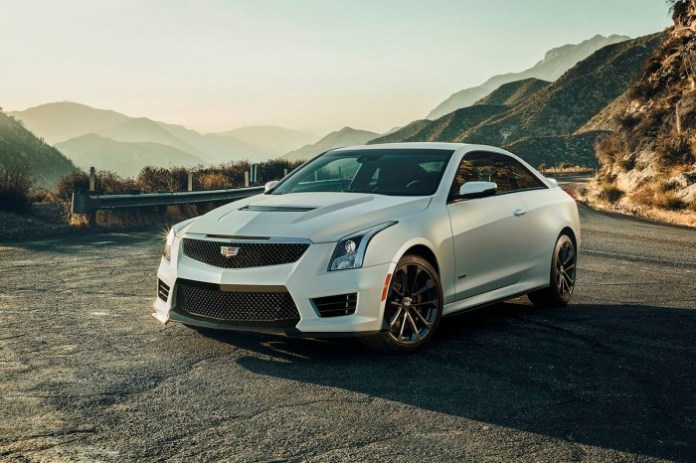 Cadillac ATS-V Sedan and Coupe 2016 (4)