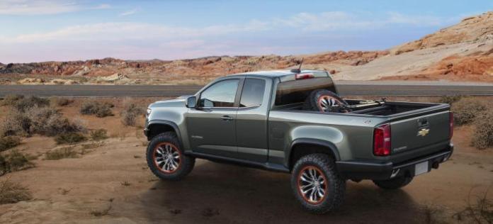 Chevrolet Colorado ZR2 Concept 4