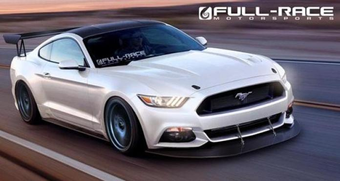 FULL-RACE MOTORSPORTS MUSTANG