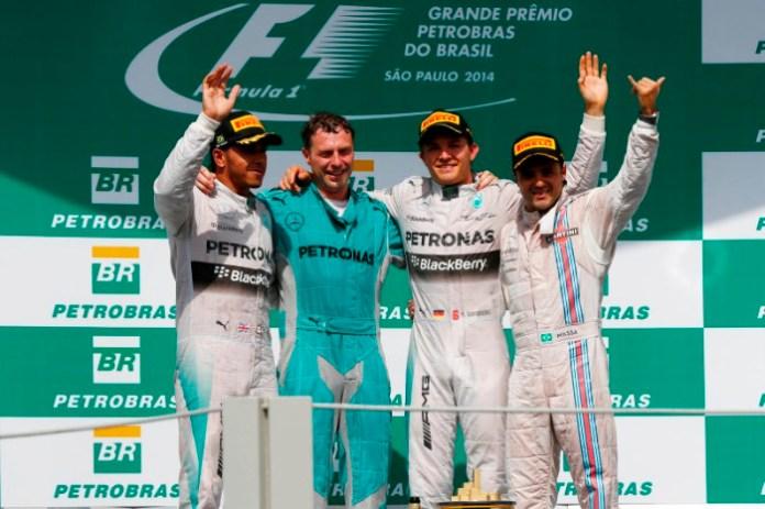 GP Brazil Podium