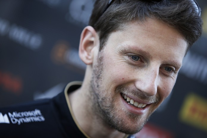 Circuit of the Americas, Austin, Texas, United States of America.Friday 31 October 2014.Romain Grosjean, Lotus F1.World Copyright: Charles Coates/Lotus F1.ref: Digital Image _J5R6539