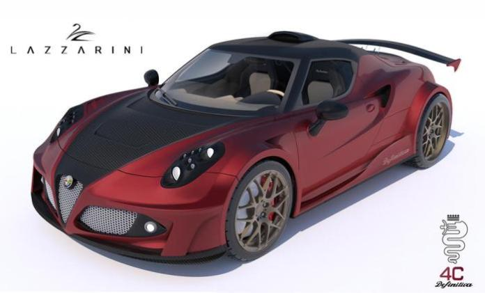 Lazzarini Design Alfa Romeo 4C Definitiva 1