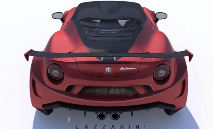 Lazzarini Design Alfa Romeo 4C Definitiva 4