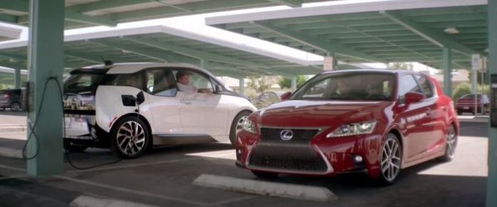 Lexus CT 200h vs. BMW i3