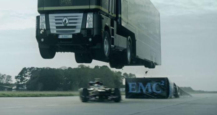 Lotus F1 Truck Jump Record