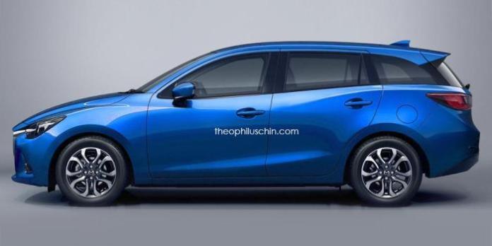 Mazda2 wagon rendering (2)