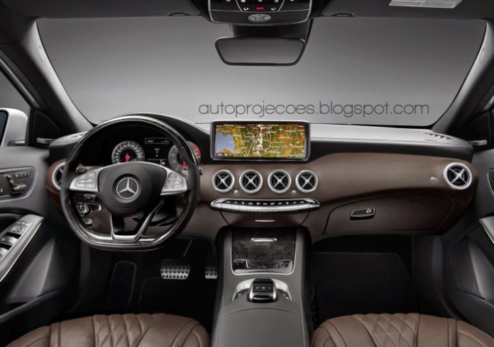 Mercedes A-Class with s-class influence (2)