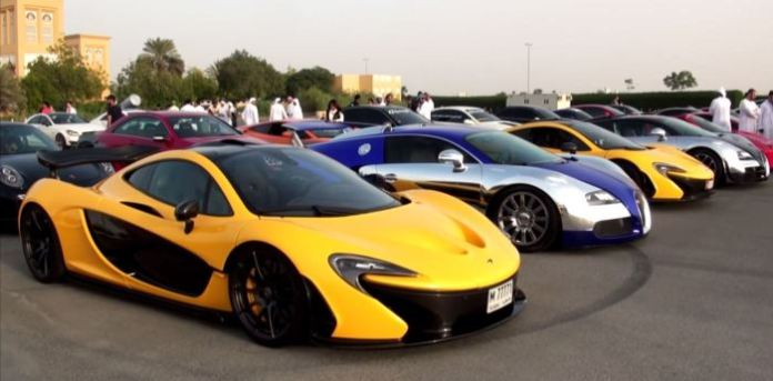 P1 and Veyrons