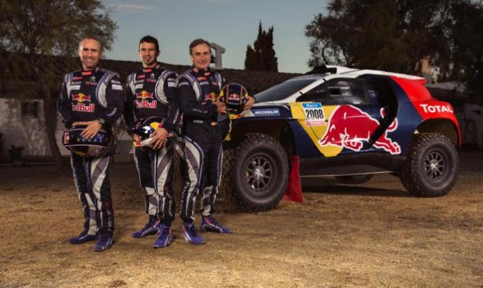 Peugeot 2008 DKR with 2015 Dakar rally livery (1)
