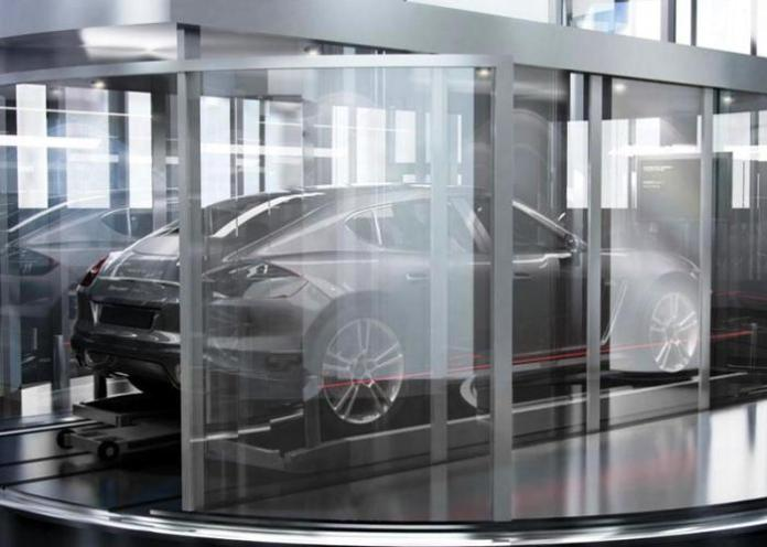 Porsche mini Panamera render