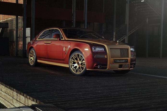 Rolls-Royce Ghost Series II by Mansory (1)