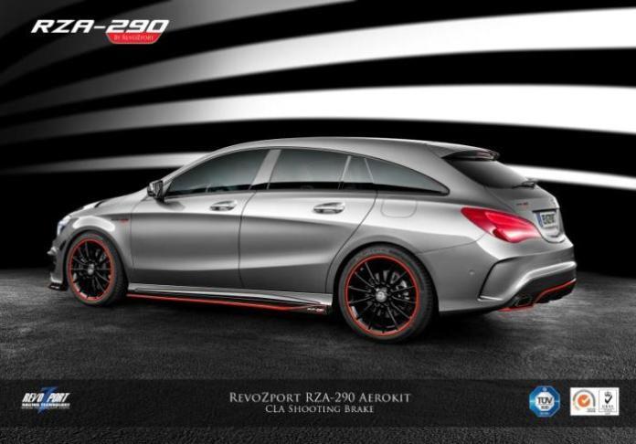 Mercedes CLA Shooting Brake by RevoZport
