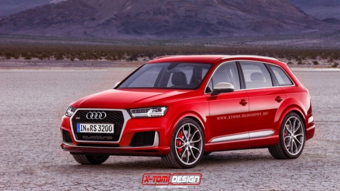 2016 Audi RS Q7 rendering