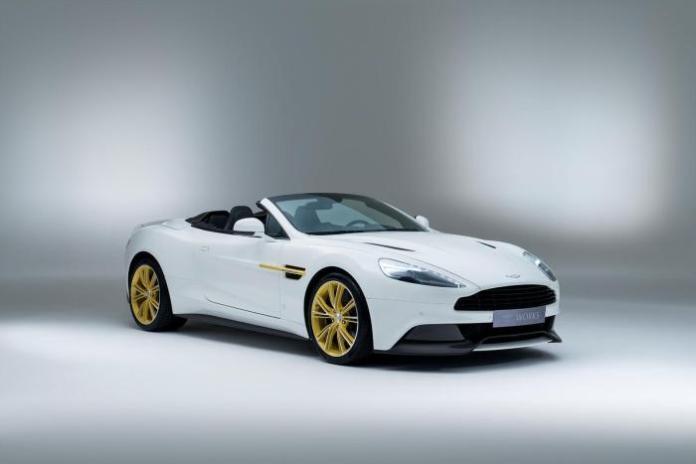 Aston Martin Works 60th Anniversary Limited Edition Vanquish 1