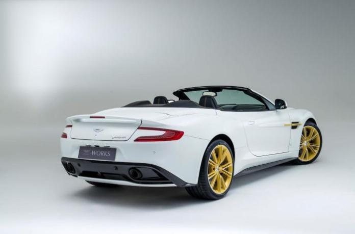 Aston Martin Works 60th Anniversary Limited Edition Vanquish 3