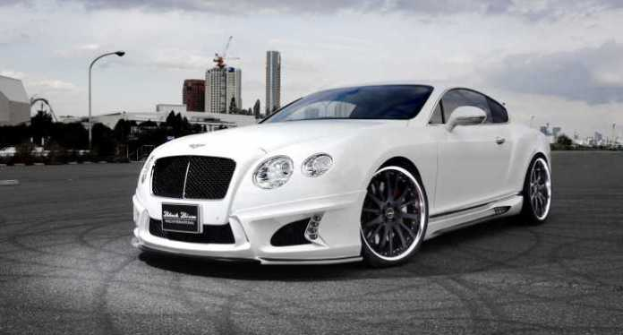 Bentley Continental GT Black Bison Wald International (6)