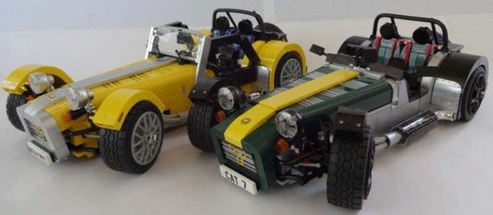 Caterham Super Seven lego (1)