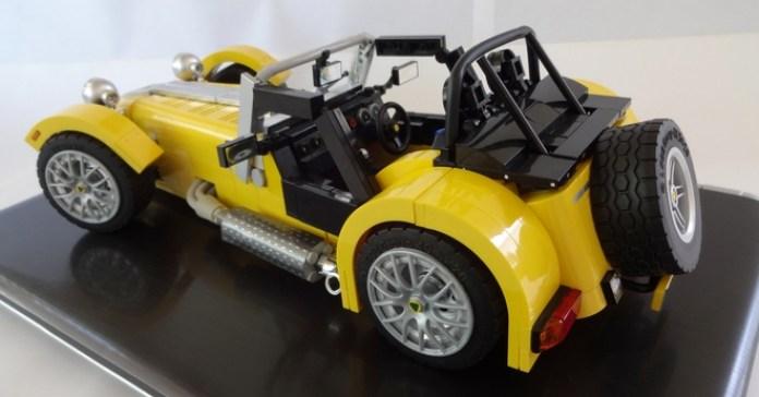 Caterham Super Seven lego (4)