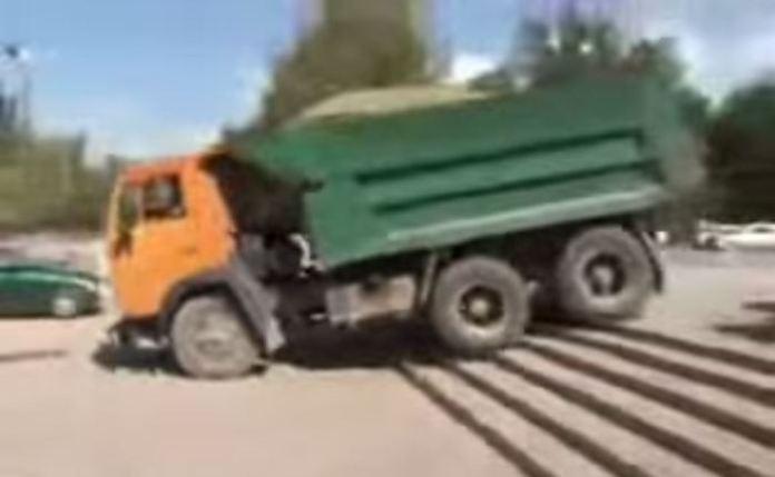 Driving in Armenia