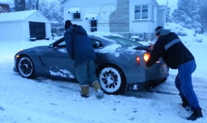 GT-R Snow