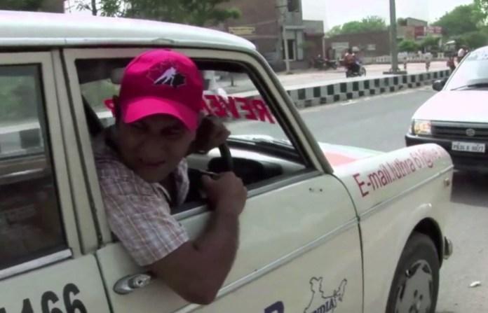 Man Drives Car Backwards