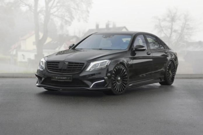 Mercedes S63 AMG by Mansory 1