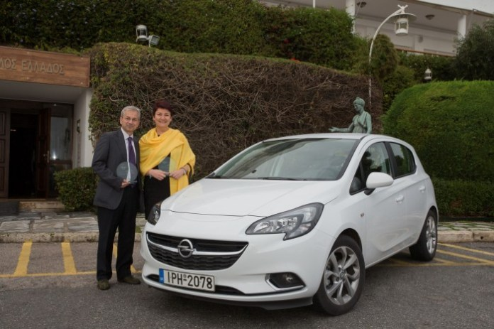 Opel Corsa - Car of the Year 2015 for Greece. (1)