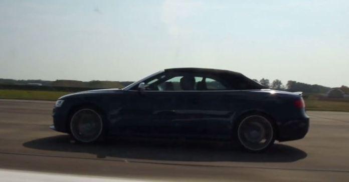 R8 V8 Vs RS 5 Cabriolet