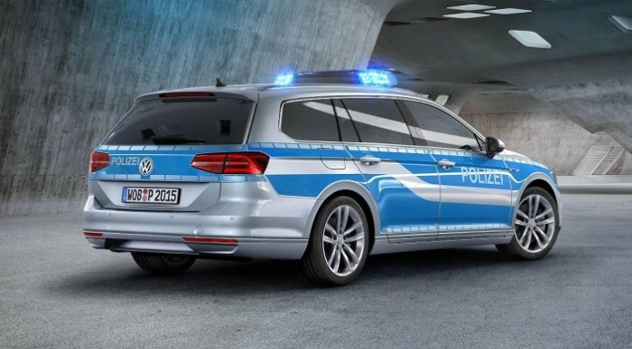 Volkswagen Passat GTE for German police (2)