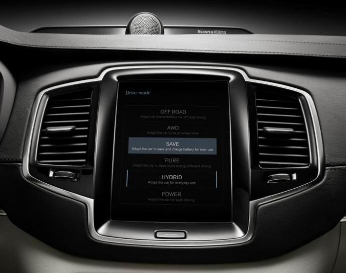 Volvo XC90 T8 technology 10