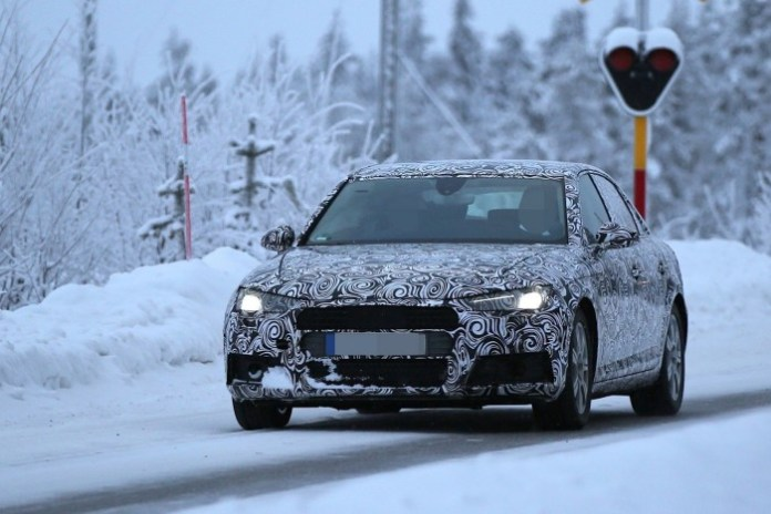 Audi A4 2016 Spy Photos (1)