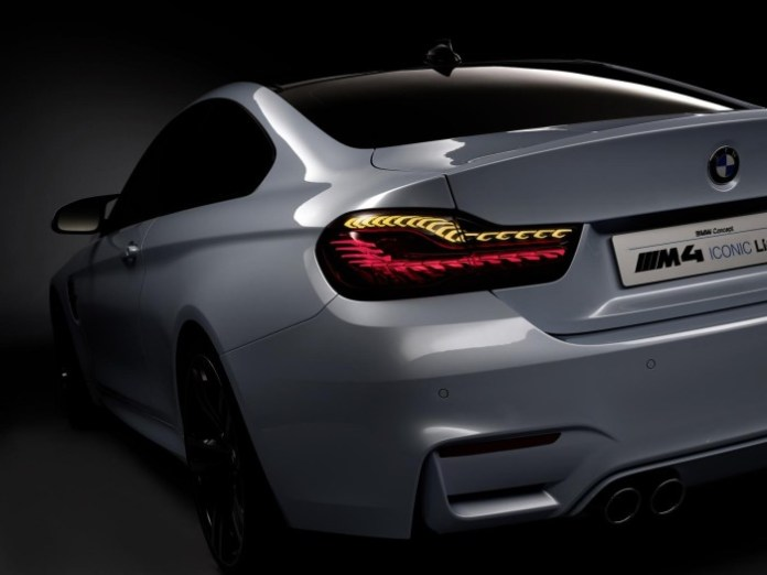 BMW M4 Concept Iconic Lights 25