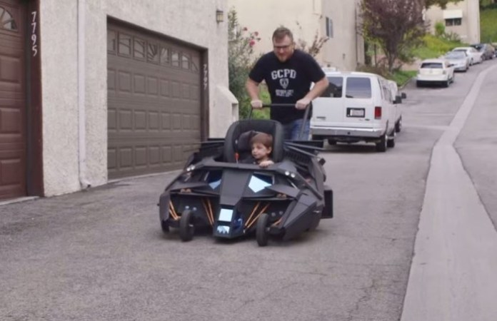 Batmobile Baby Stroller The Dark Knight