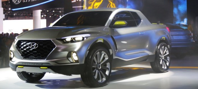 Hyundai Santa Cruz Crossover Truck Concept (1)