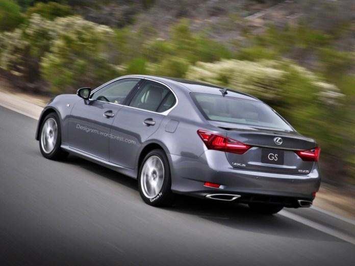 Lexus GS Facelift (2)