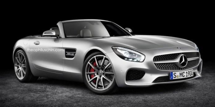 Mercedes-AMG GT Roadster Renderings (1)