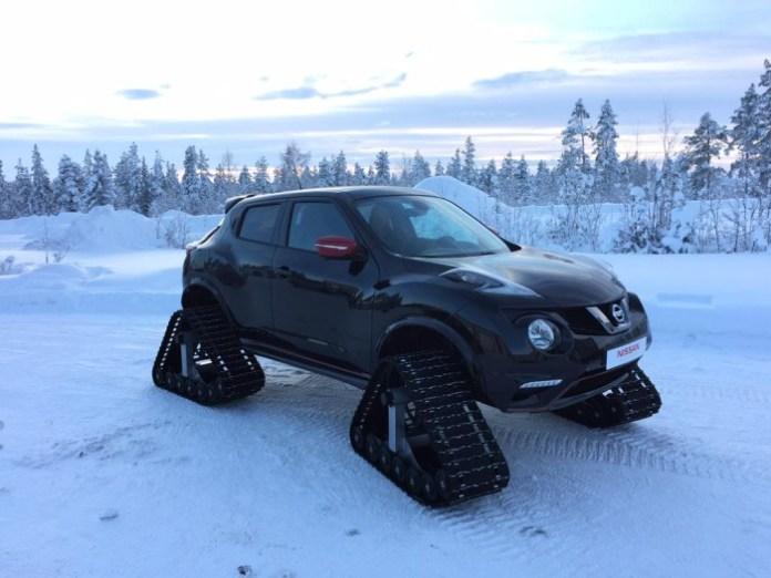 Nissan Juke Nismo Snowmobile (1)