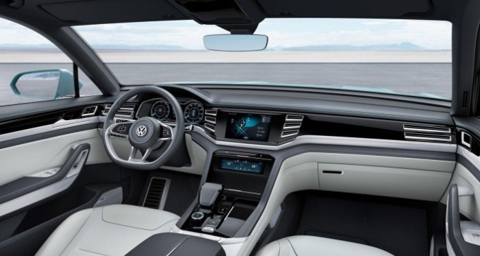 Volkswagen Cross Coupe GTE concept 12
