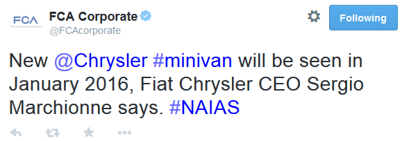 chrysler new minivan 2016