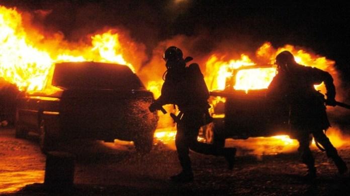 france car fire